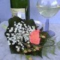 Anstecksträußchen aus Blumen für Feierlichkeiten (Hochzeit) - Anstecksträußchen fürs Revers