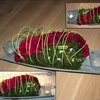 Petit arrangement floral pour la table de fête