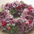 Comment confectionner une jolie couronne d'automne?