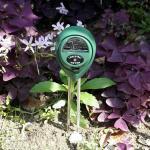 3 in 1 Messgerät (pH, Licht und Feuchtigkeit)