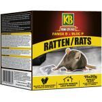 Petits blocs de poison pour rats - 300 g