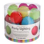 Eclairage festif 20 lampes led - 5 couleurs