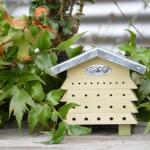 Bienenblock Zinkdach