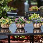 Blumenkorb hängend - Kunststoff