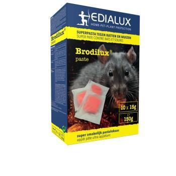brodilux p te contre les souris et les rats 150 g souris et rats lutte contre les. Black Bedroom Furniture Sets. Home Design Ideas