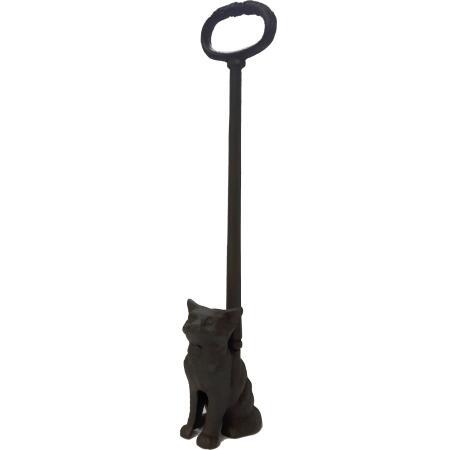 Türstopper Katze aus Gusseisen