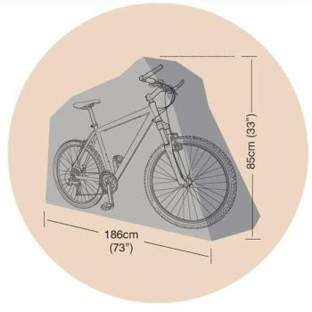 Housse de protection bicyclette