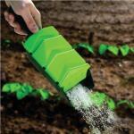 Handstreuer für Samen, Düngerpellets, Salz und Sand