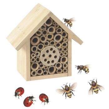 maison d 39 insectes pour abeilles solitaires coccinelles insectes animaux familiers. Black Bedroom Furniture Sets. Home Design Ideas