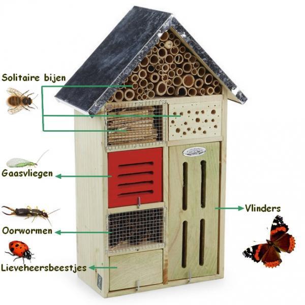 insektenhotel kaufen schmetterlinge marienk fer. Black Bedroom Furniture Sets. Home Design Ideas