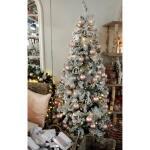 Weihnachtsbaum aus Kunststoff Schnee 180 cm