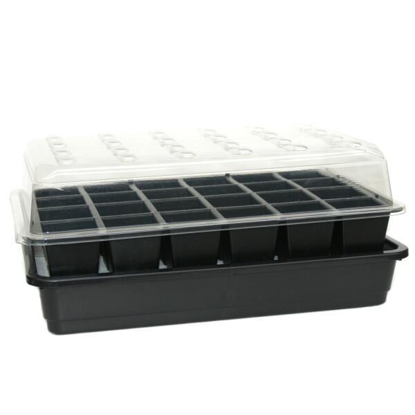 anzuchtkasten mit bew sserung anzuchtkasten um selbst pflanzen zu s en mit automatischer. Black Bedroom Furniture Sets. Home Design Ideas