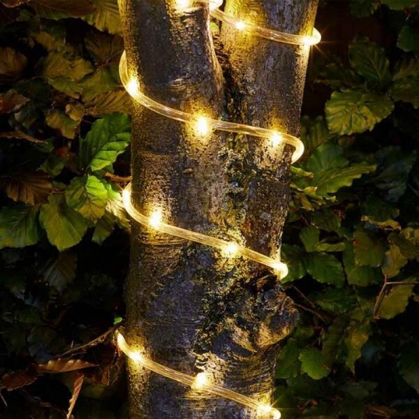 Guirlande lumineuse pour l\'extérieur   Eclairage solaire   Éclairage ...