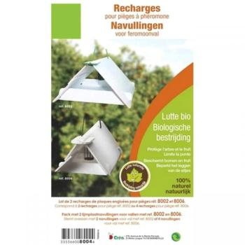 plaquettes de rechange pour pi ge ph romones insectes volants lutte contre les nuisibles. Black Bedroom Furniture Sets. Home Design Ideas