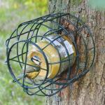 Support pour pot de beurre de cacahuètes pour oiseaux