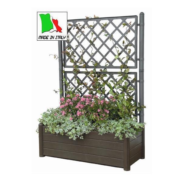 pflanzkasten mit rankgitter kaufen pflanzkasten f r die terrasse ziert pfe und blumenk sten. Black Bedroom Furniture Sets. Home Design Ideas