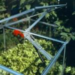 Automatischer Fenster- und Türöffner Univent mit 2 Spannfedern