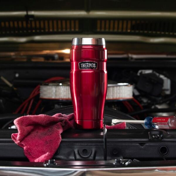 Thermos King Becher rot - 470 ml