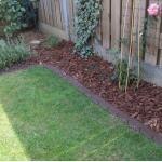 Bordure de jardin de 380 cm pour déliminer les bordures et les chemins