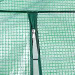 Serre de jardin en plastique - 200 x 120 x 190 cm
