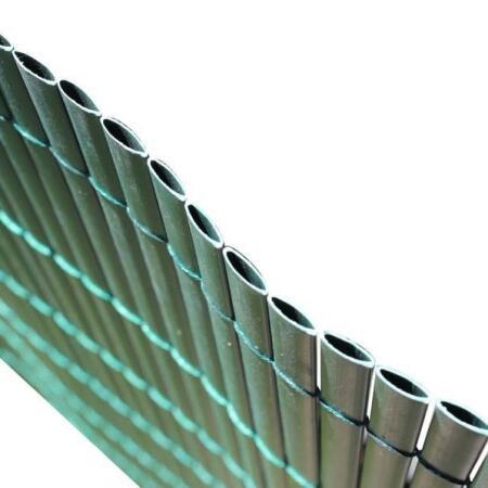 Ecran de jardin vert en PVC - 3 x 1 m