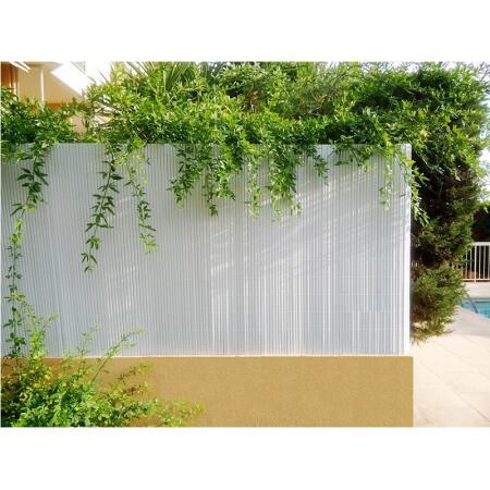 Ecran de jardin blanc double face - 3 x 1 m