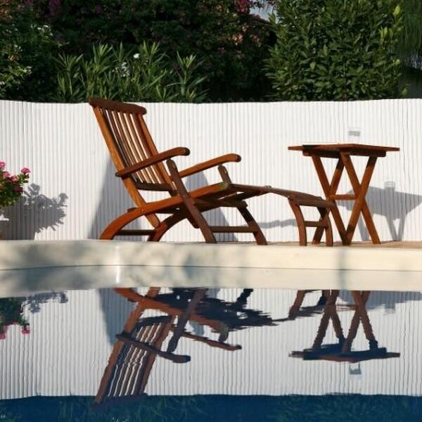 Ecran de jardin blanc   Protection et vie privée   Aménagement ...