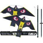 Cerfs-volants anti-oiseaux avec poteau de 7 m