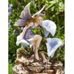 Wasserfall Liliana - Elfe mit Blumen